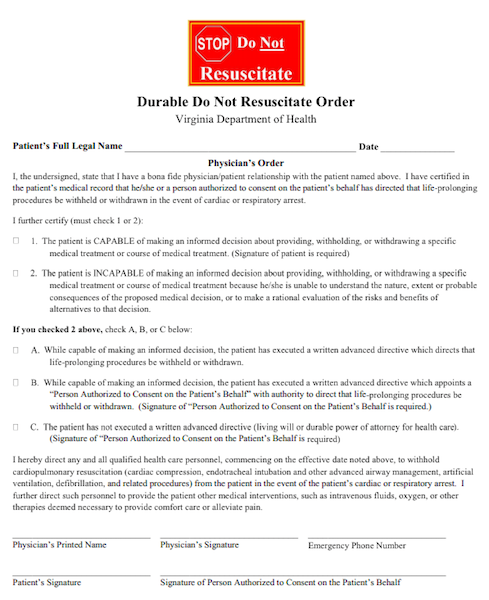 image regarding Printable Do Not Resuscitate Form known as DNRs and Progress Designing for Little ones: Almost everything By yourself Want in the direction of