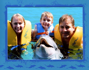 familydolphinswim