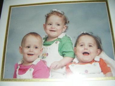 Age 16 months. Emily, Lauren, Rachel