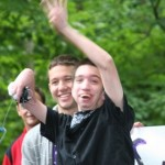 teen with a trach at camp